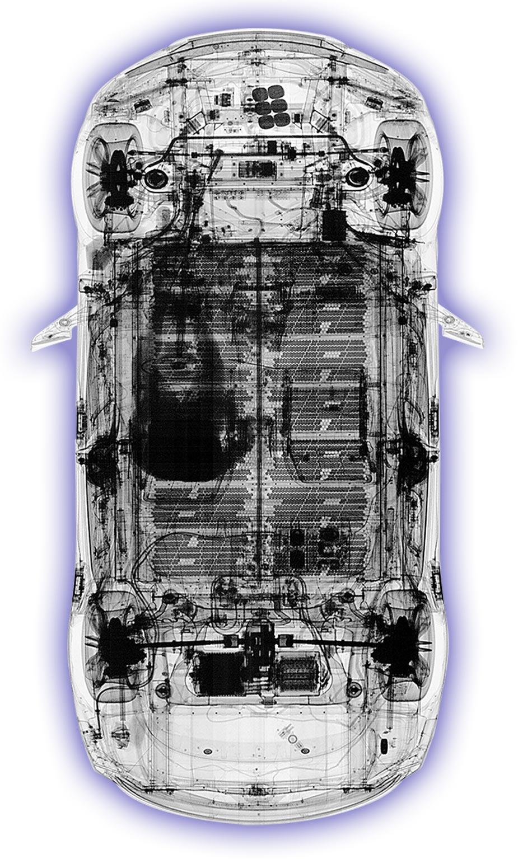 hxc x-ray scan of tesla