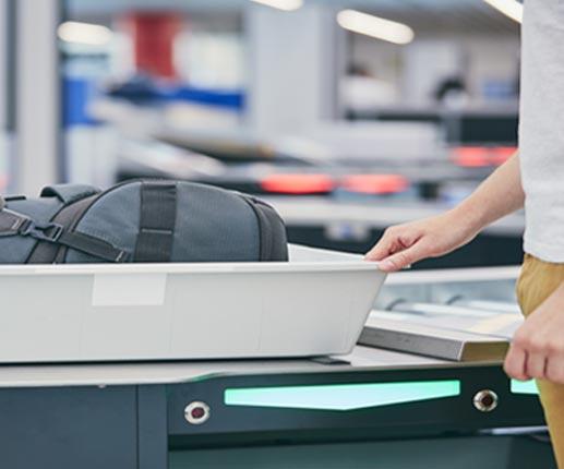 TSA security scanner